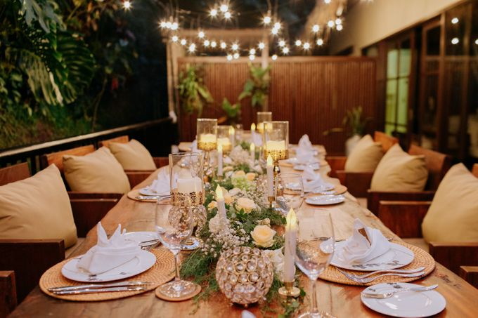 Intimate Dinner by Bali Becik Wedding - 017