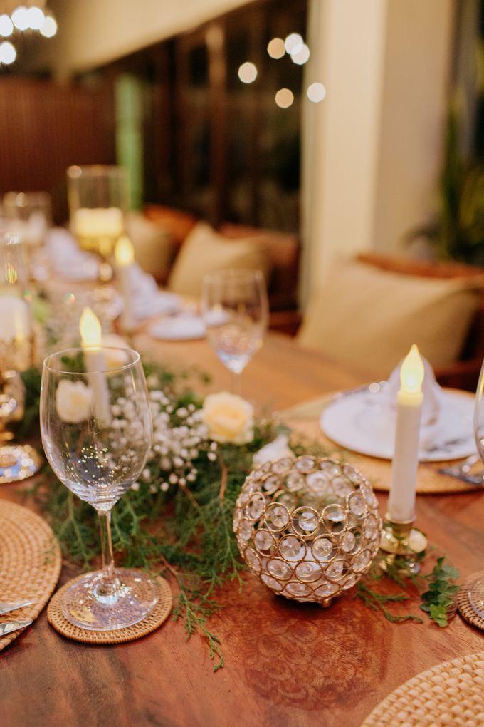 Intimate Dinner by Bali Becik Wedding - 016