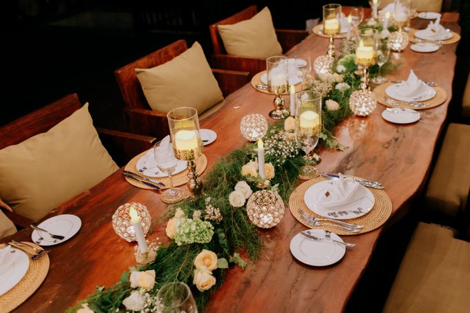 Intimate Dinner by Bali Becik Wedding - 009
