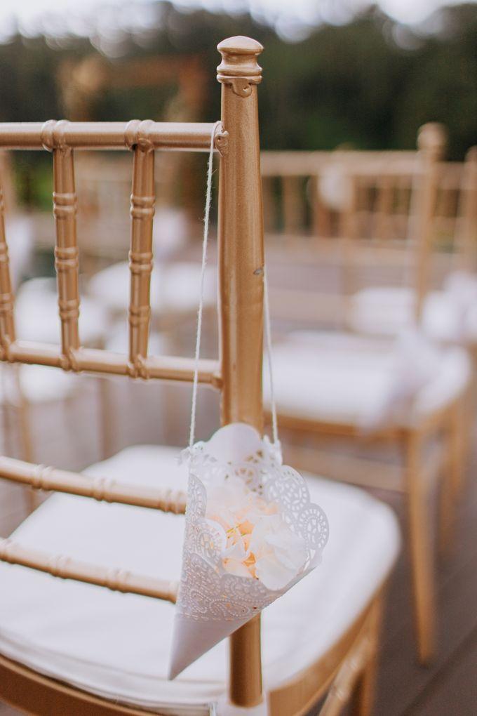 Ceremony at Hanging Garden by Bali Becik Wedding - 009