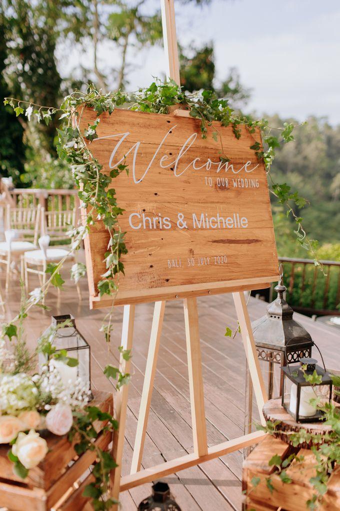 Ceremony at Hanging Garden by Bali Becik Wedding - 006