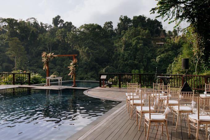 Ceremony at Hanging Garden by Bali Becik Wedding - 005