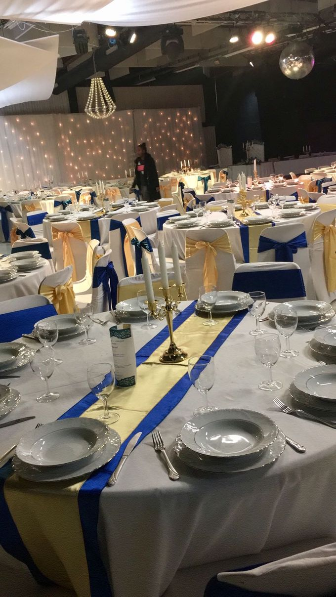 King  Blue And Gold by Kamy Wedding - 004