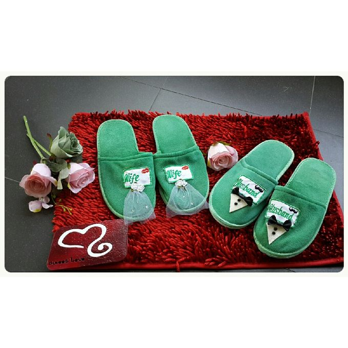 Wedding Slippers by Sweetlovecollection - 008