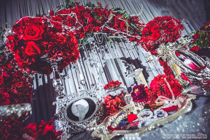 Unique Themed Wedding Decoration by Wedding And You - 005