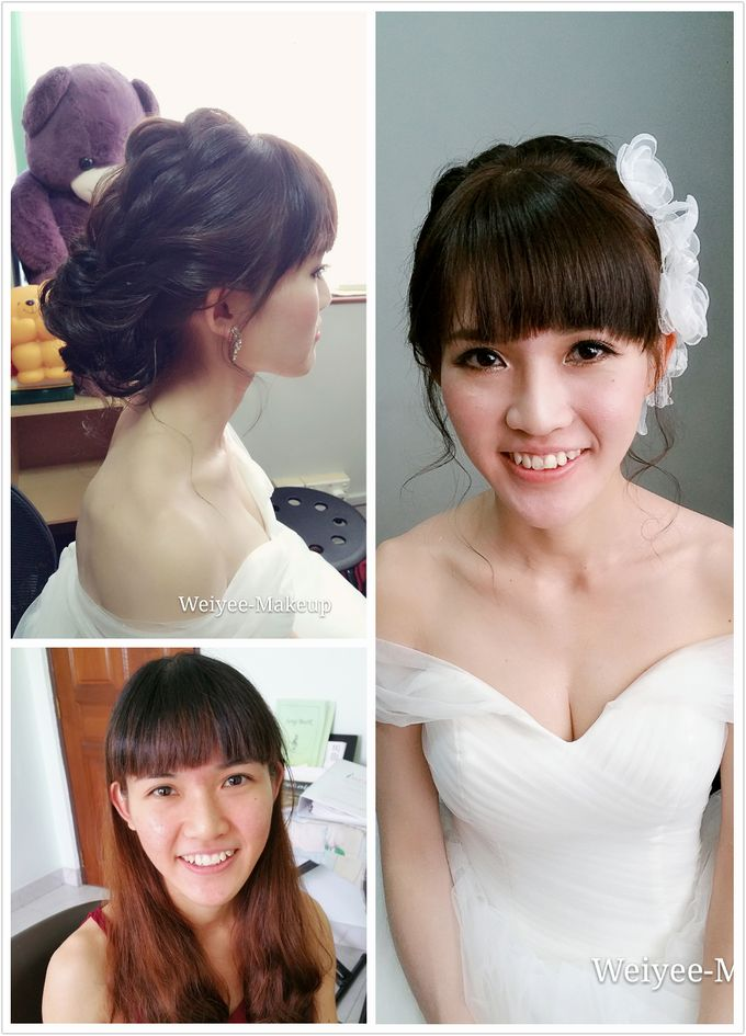 Wedding Actual Day Makeup & Hairstyling by Weiyee-makeup - 002