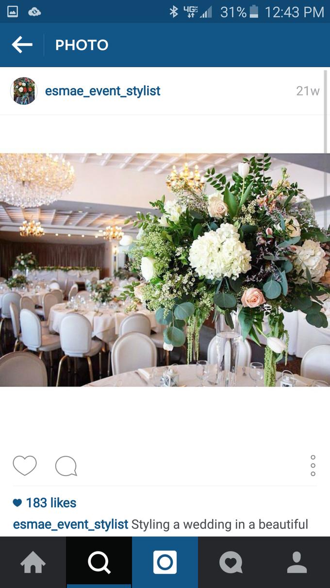 Lily & Igor 2015 by Esmae Event Floral Design - 001