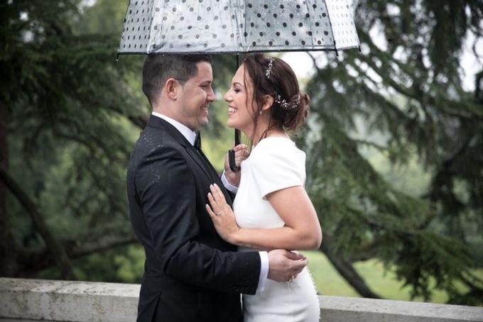 Rainy Wedding - Happy Wedding by Laura Z Organisation - 006