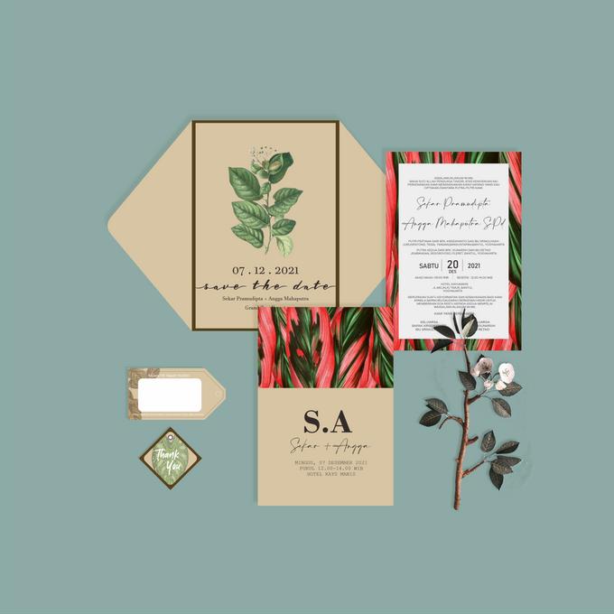 Undangan Ekslusif by Aura: Undangan Pernikahan | Wedding Invitation - 005
