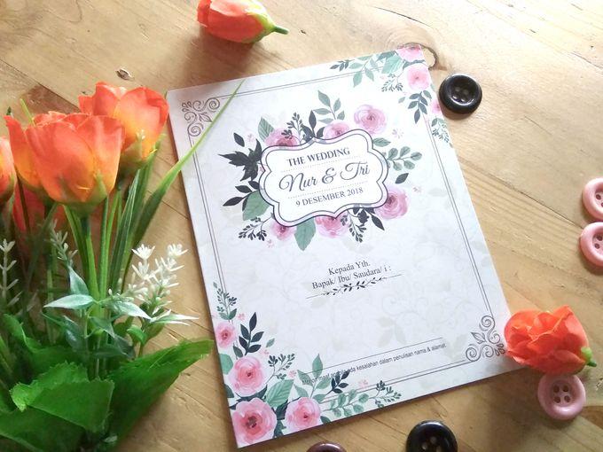 UNDANGAN SOFTCOVER by Aura: Undangan Pernikahan | Wedding Invitation - 001