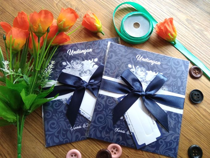 UNDANGAN SOFTCOVER by Aura: Undangan Pernikahan | Wedding Invitation - 002