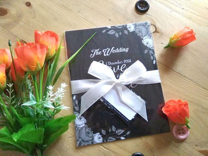 UNDANGAN SOFTCOVER by Aura: Undangan Pernikahan | Wedding Invitation - 003