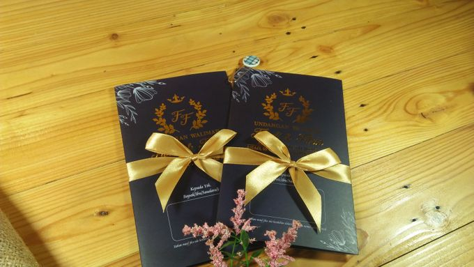 UNDANGAN SOFTCOVER by Aura: Undangan Pernikahan | Wedding Invitation - 004