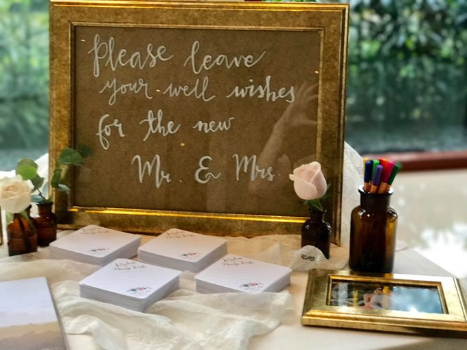 Pink and Gold Wedding of Anthony and Jade at Capella Singapore by Fiona Treadwell - 003