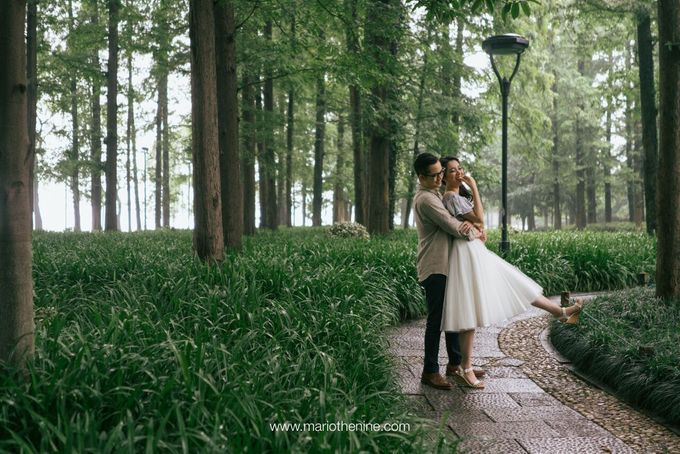 Henry & Beby Outdoor Prewedding by Mario The Nine - 013
