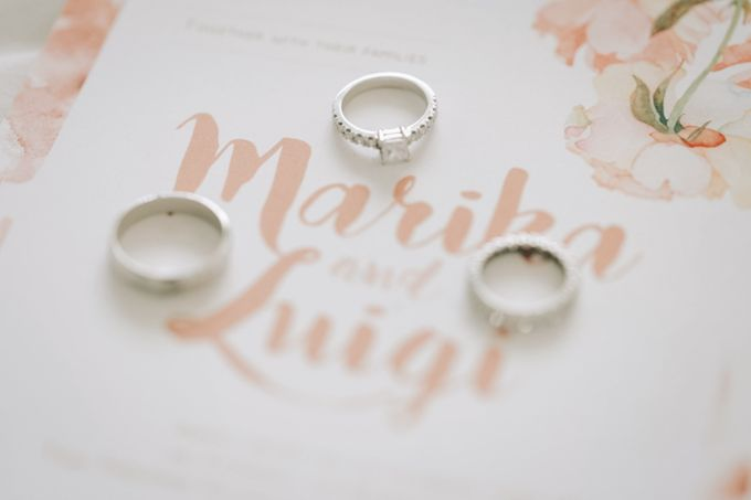 Luigi & Marika Blush Wedding by Marielle Penafiel Photography - 003