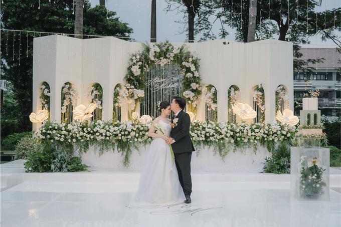 Adrian & Michelle Wedding Decoration by Valentine Wedding Decoration - 001