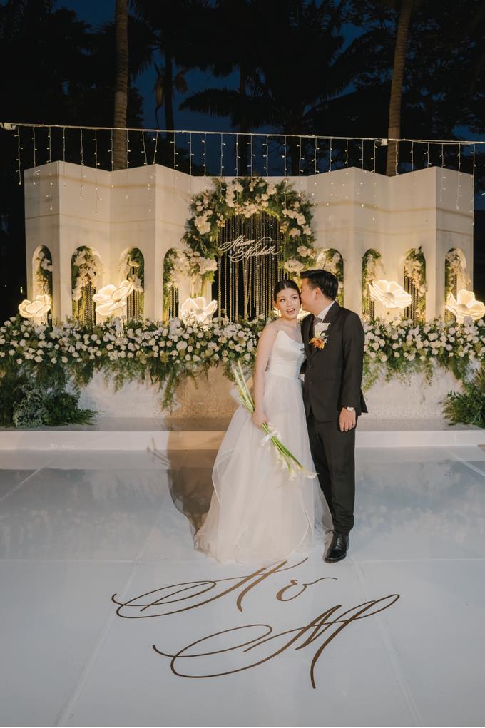 Adrian & Michelle Wedding Decoration by Valentine Wedding Decoration - 027