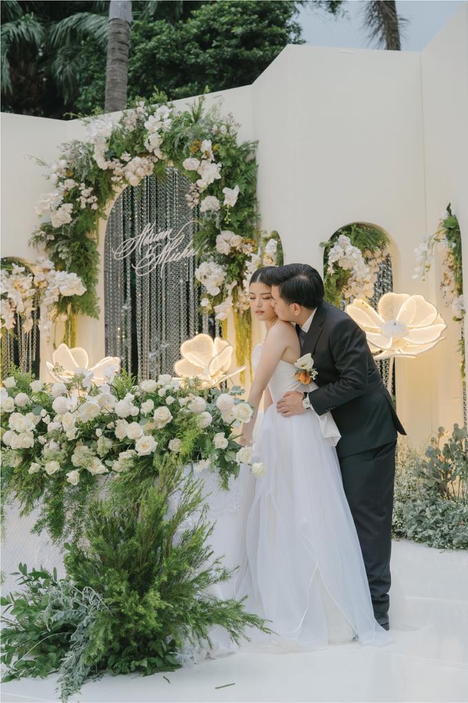 Adrian & Michelle Wedding Decoration by Valentine Wedding Decoration - 012
