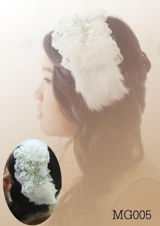 headdresses for Prewedding Photoshoot... by mignon headdresses - 001