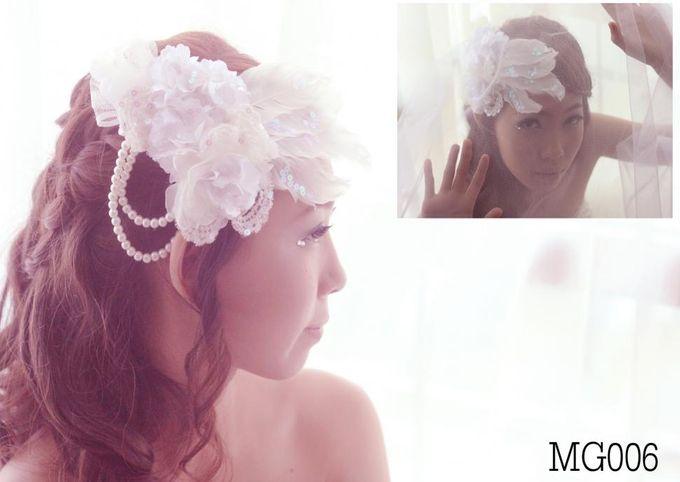 headdresses for Prewedding Photoshoot... by mignon headdresses - 003