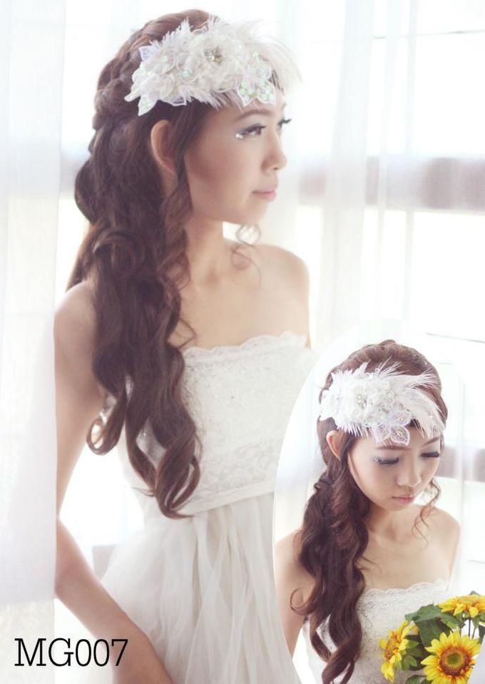 headdresses for Prewedding Photoshoot... by mignon headdresses - 005