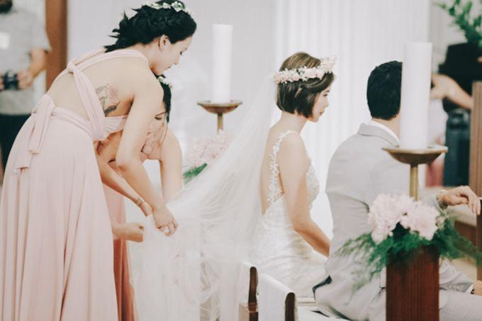 Luigi & Marika Blush Wedding by Marielle Penafiel Photography - 034