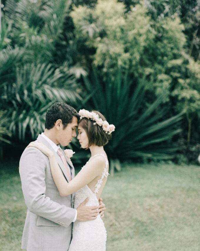 Luigi & Marika Blush Wedding by Marielle Penafiel Photography - 036