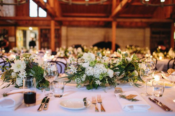 Ceremony and Reception by Affair with George  Florals & Event Styling - 037