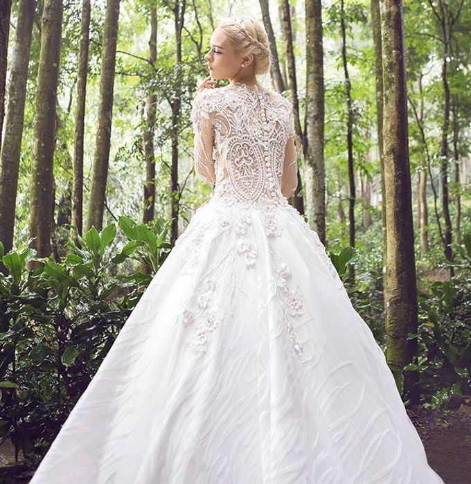 Premium Wedding Gown Design by Tracy Bridal House - 002