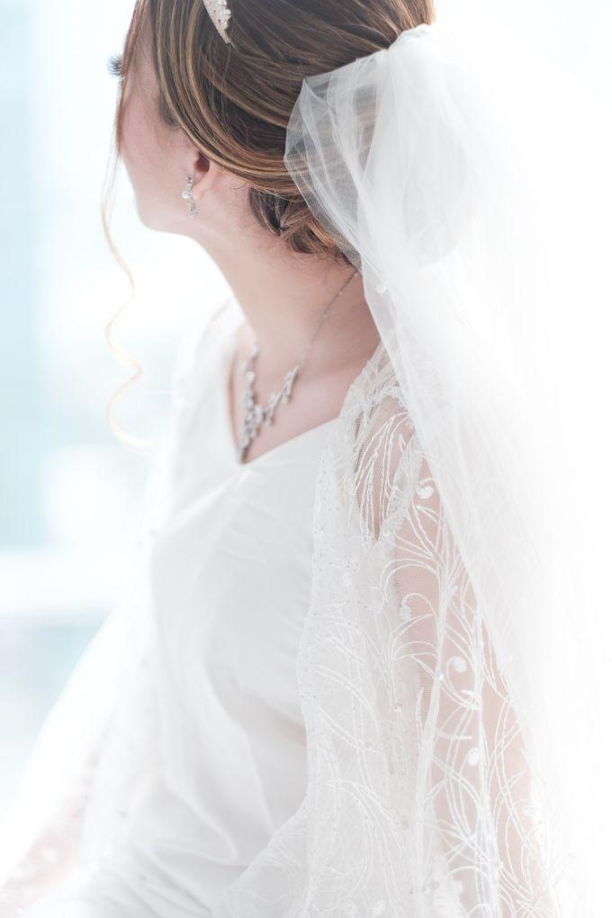 Wedding day of Shinta & Aldo by Michelle Bridal - 019