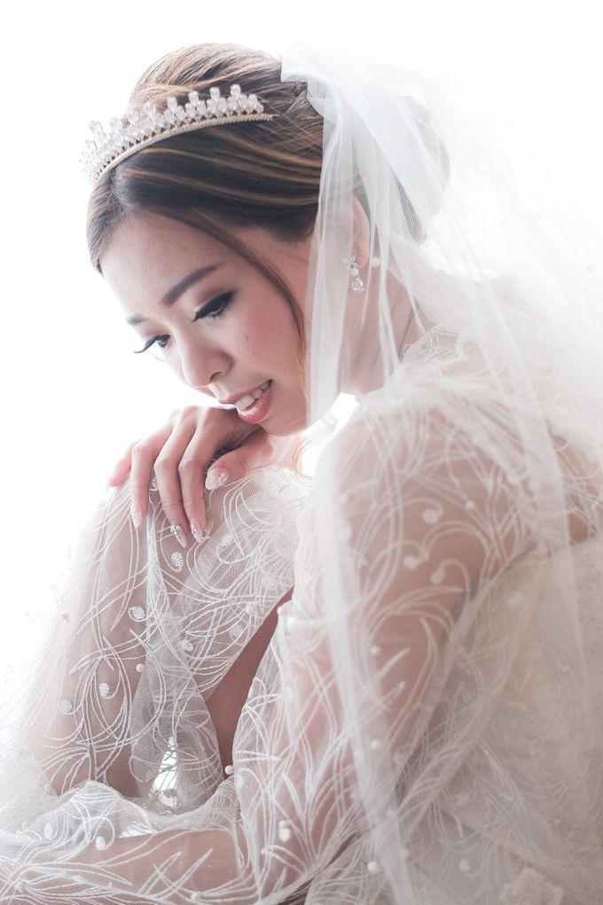 Wedding day of Shinta & Aldo by Michelle Bridal - 021