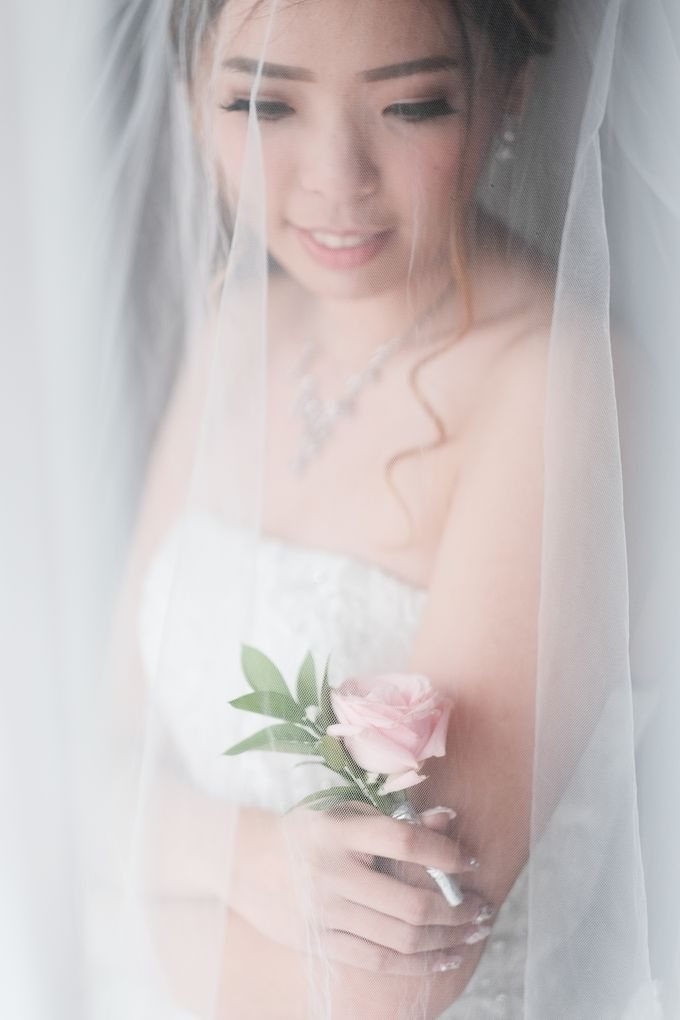 Wedding day of Shinta & Aldo by Michelle Bridal - 023