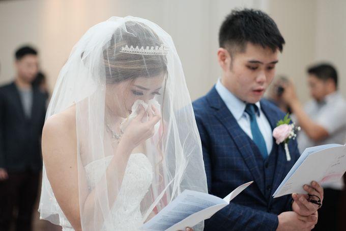 Wedding day of Shinta & Aldo by Michelle Bridal - 027