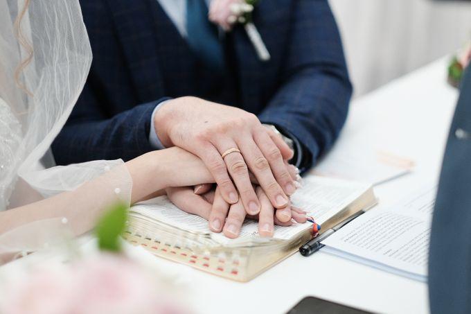 Wedding day of Shinta & Aldo by Michelle Bridal - 029