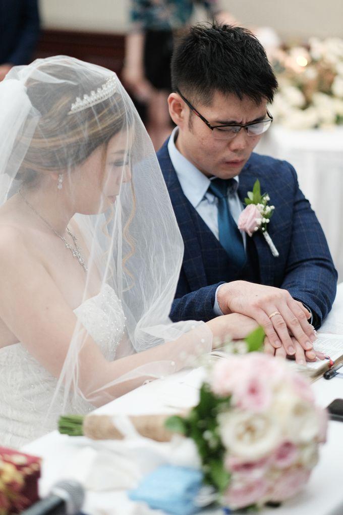 Wedding day of Shinta & Aldo by Michelle Bridal - 030