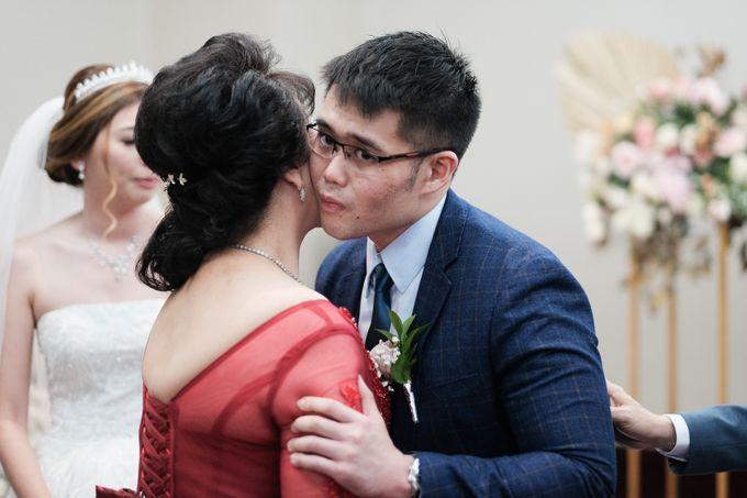 Wedding day of Shinta & Aldo by Michelle Bridal - 032