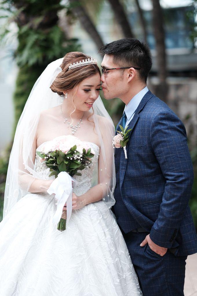Wedding day of Shinta & Aldo by Michelle Bridal - 034
