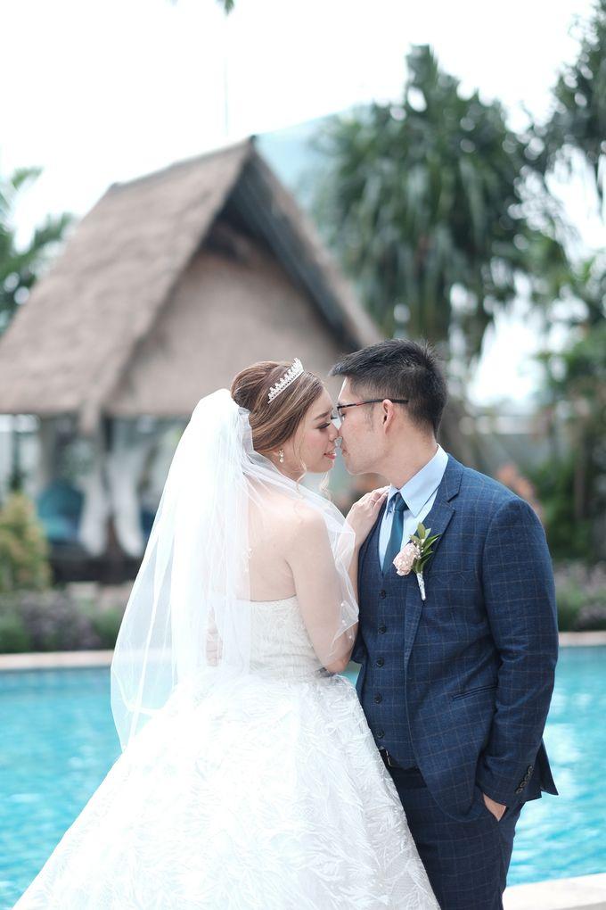 Wedding day of Shinta & Aldo by Michelle Bridal - 035