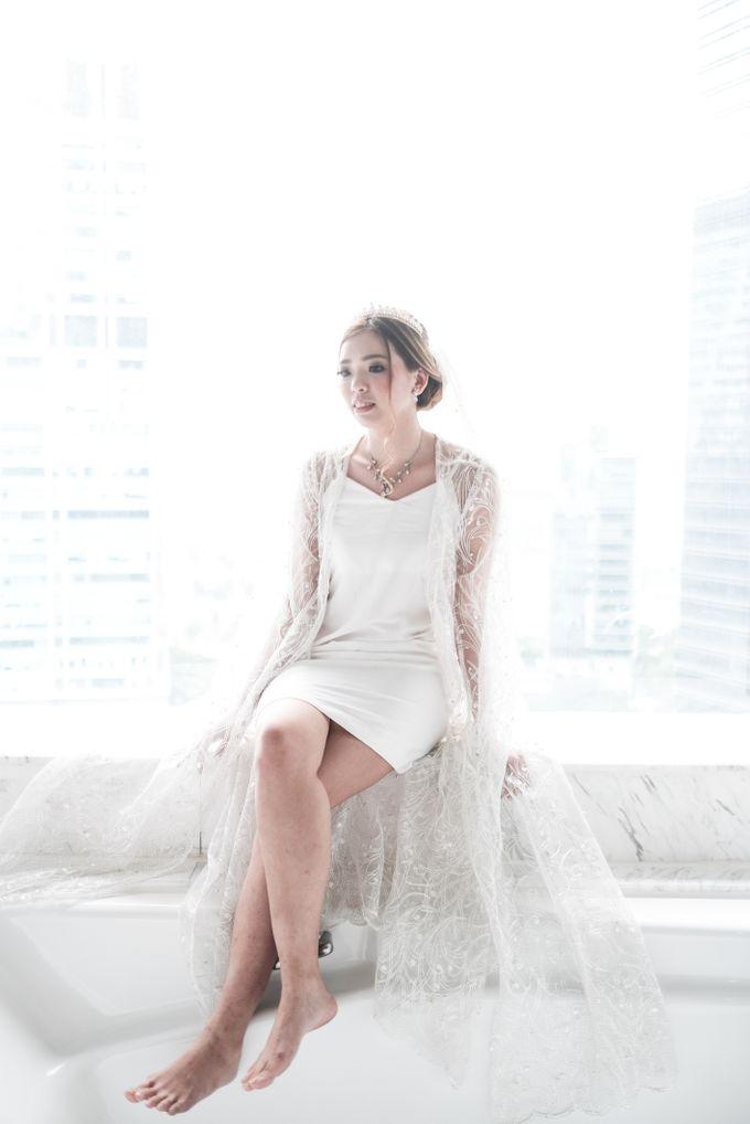 Wedding day of Shinta & Aldo by Michelle Bridal - 039