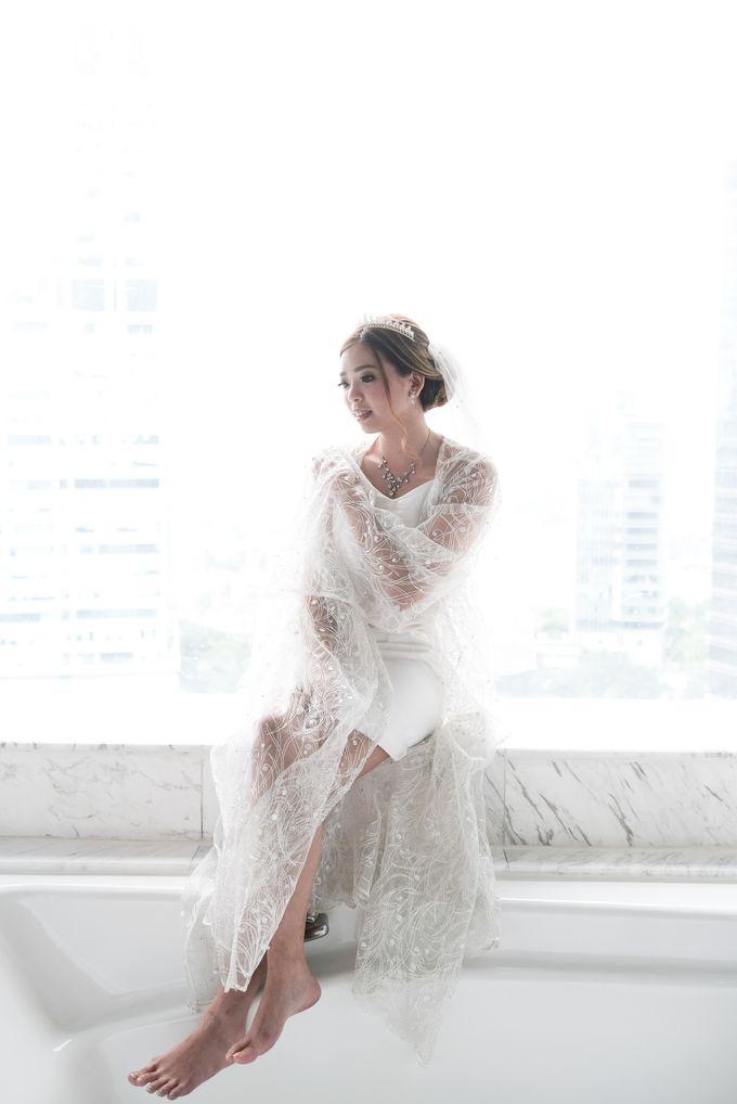 Wedding day of Shinta & Aldo by Michelle Bridal - 040