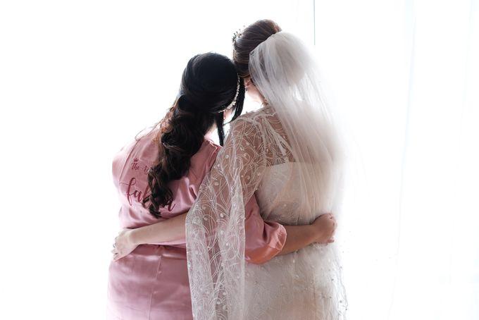 Wedding day of Shinta & Aldo by Michelle Bridal - 042