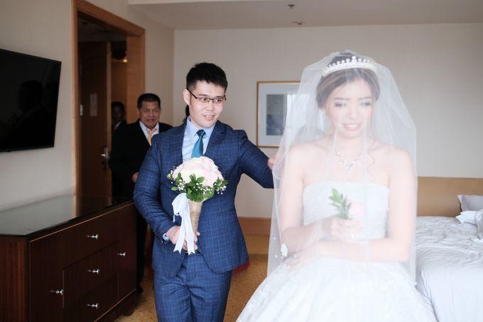Wedding day of Shinta & Aldo by Michelle Bridal - 044
