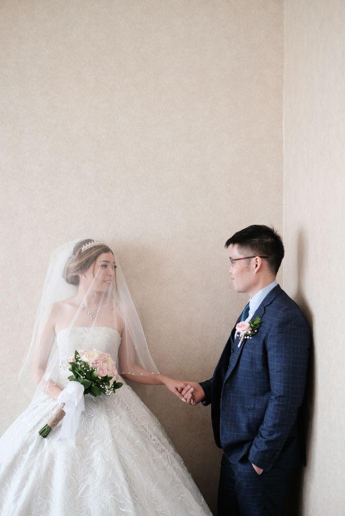 Wedding day of Shinta & Aldo by Michelle Bridal - 046