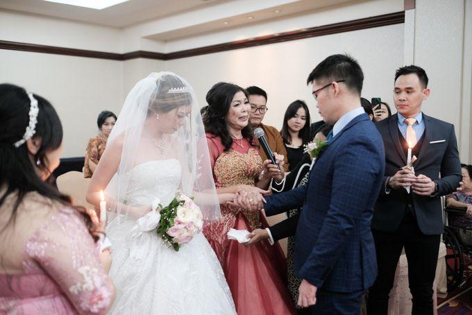 Wedding day of Shinta & Aldo by Michelle Bridal - 047