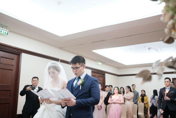 Wedding day of Shinta & Aldo by Michelle Bridal - 048