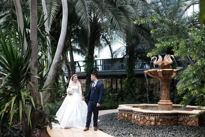 Wedding day of Shinta & Aldo by Michelle Bridal - 050