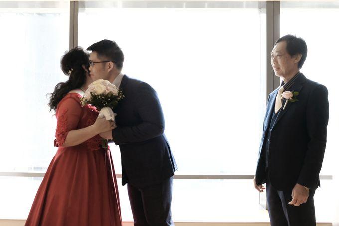 Wedding day of Shinta & Aldo by Michelle Bridal - 007