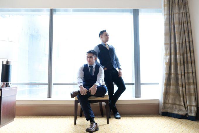 Wedding day of Shinta & Aldo by Michelle Bridal - 008