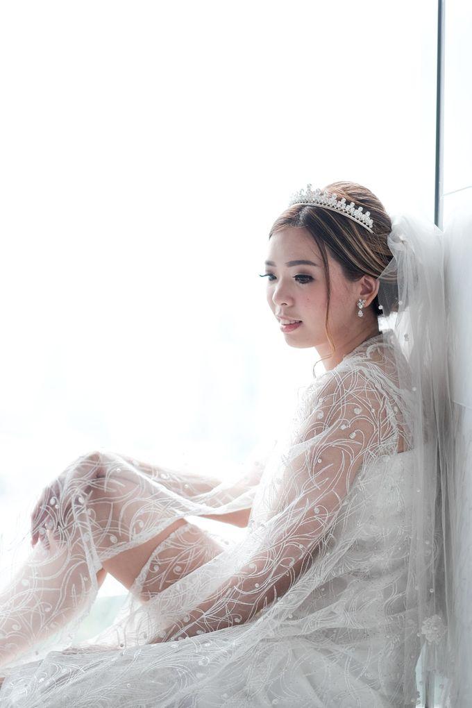 Wedding day of Shinta & Aldo by Michelle Bridal - 015